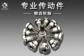 钢齿轮轴钢件
