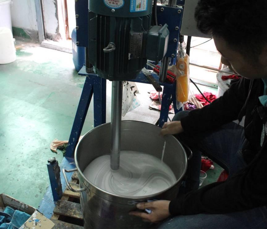3、搅拌 真空排泡 剂料 称重