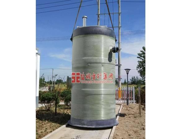 南康待安装一体化预制泵站