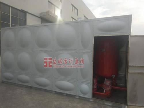 BDF不锈钢地上式箱泵一体化消防泵站