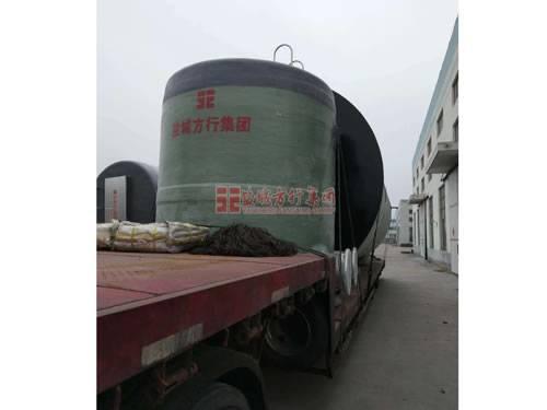 安徽一体化预制泵站发货