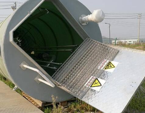 集水池塘内一体化泵站运转节制的规则分析