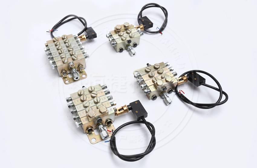 流遍电动润滑泵-分油器