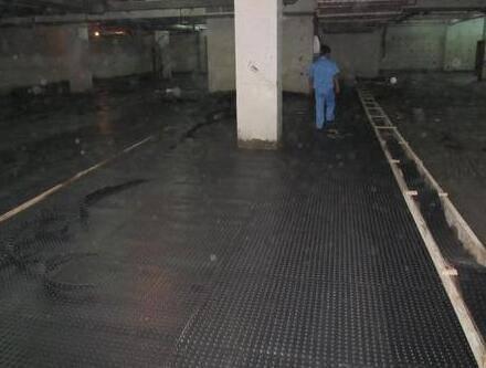 地下室堵漏防水施工四个步骤分析