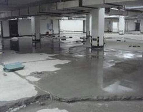 地下室堵漏使用高压注浆机施工的工程介绍