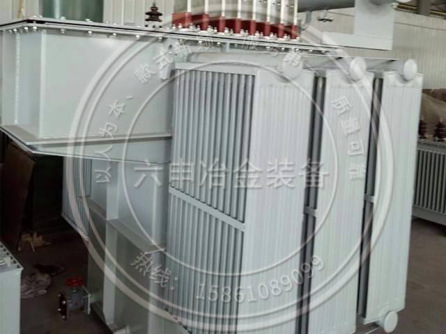 Electric furnace transformer