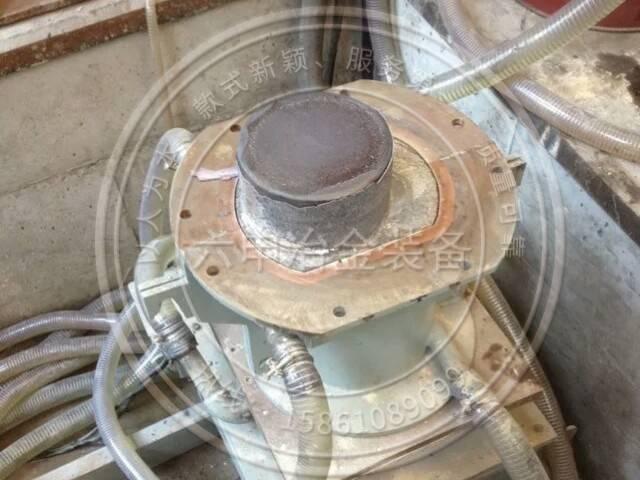 Electroslag casting furnace