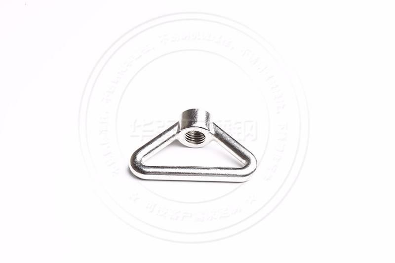 不锈钢三角环型螺母