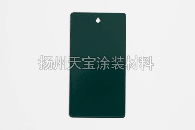 纯聚酯鲜绿