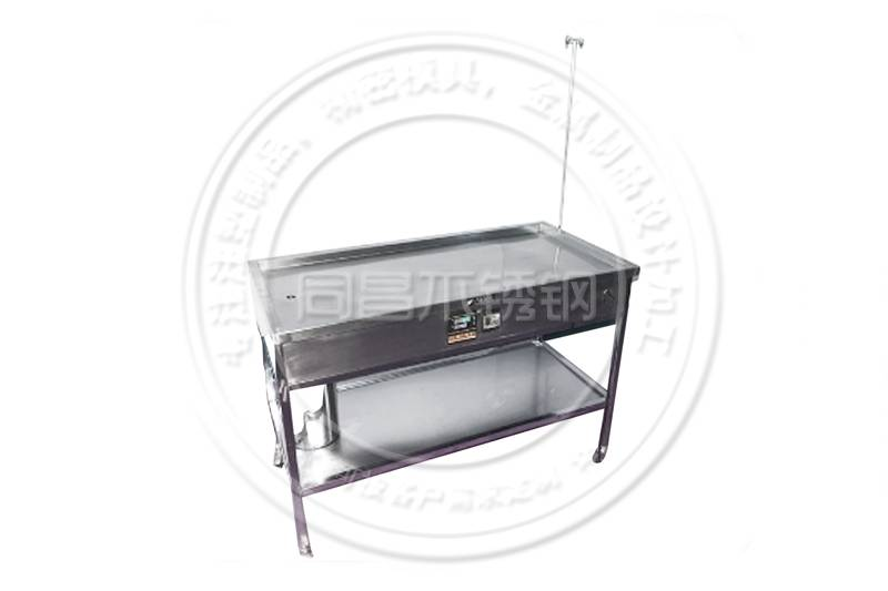 Constant temperature infusion table
